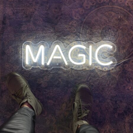 "Led neonskilt ""MAGIC"""