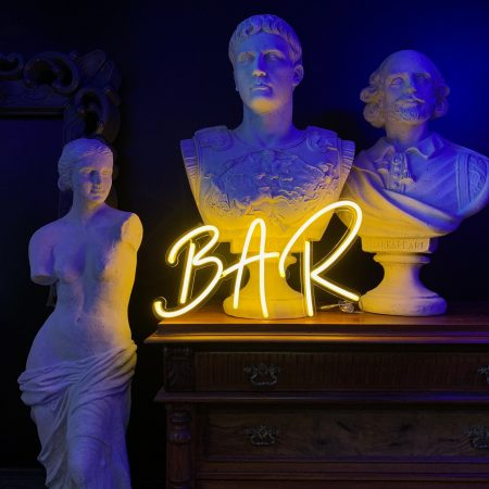 "Led neonskilt "" BAR "" H30"